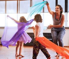 tartuca dei piccoli: danza creativa – genitore/bambino