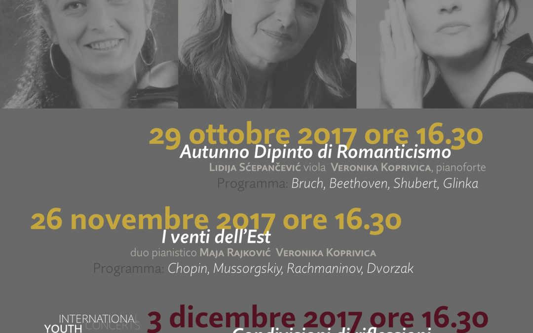 Musica in TartucaPiù: concerti per pianoforte ospitati nella sede di via Zendrini