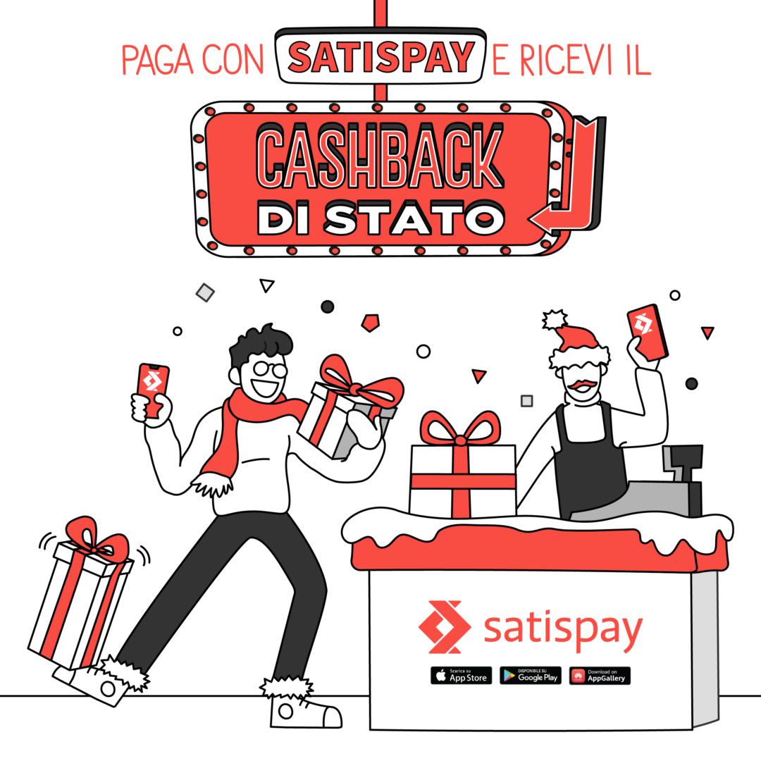 In Tartuca paga con Satispay!